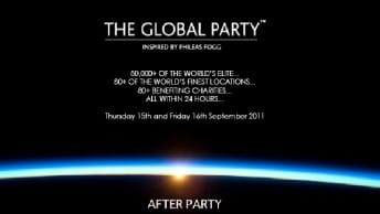 THE GLOBAL PARTY USTREAM中継