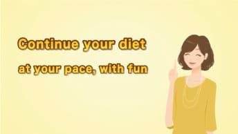 ダイエットサポートアプリ動画制作