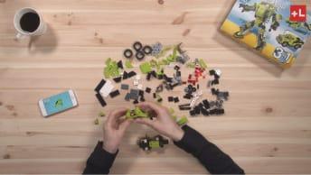 レゴ組立図アプリ「プラスエル」動画制作
